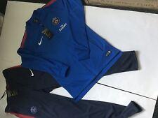 Nike Paris St Germain PSG CALCIO Tuta Da Ginnastica Nuovo con etichette Taglia Small
