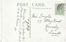 Genealogy Postcard - Family History - Ingle - Guiseley - Near Leeds  GN822