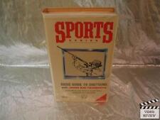 Sport Series: Basic Guide to Shotguns (VHS, 1989) Large Case John Satterwhite