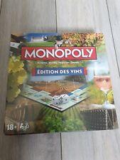 Jeu de société Monopoly Edition Des Vins neuf