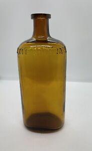 Antique Pharmacist Bottle Felton Grimwade & Co Copper Colour