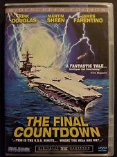 The Final Countdown (DVD, 2004, Widescreen) Kirk Douglas Martin Sheen Sci-Fi OOP