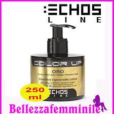 Maschera per capelli rigenera colore - Oro - (nuance dorato) 250ml Echosline