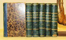 RELIGIONE - Michaud STORIA delle CROCIATE 12 pt. in 6 voll - Marotta 1831 Mappe