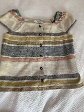 NWT Madewell Texture & Thread Striped Shirt Size XS