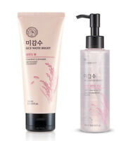 [THE FACE SHOP] Rice Water Bright Foaming Cleanser & Light Cleansing Oil - 150ml