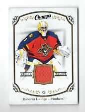 ROBERTO LUONGO NHL 2015-16 UPPER DECK CHAMP'S JERSEYS ( PANTHERS,ISLANDERS)