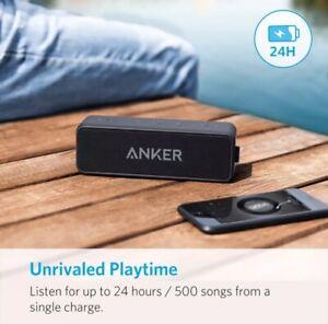 Anker Soundcore 2 Portable Bluetooth 5 Wireless Speaker Ultra Bass 24-Hour Play