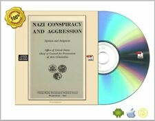 Nazi Conspiracy and Aggression -The Red Series- 8 Vol + 3 Others eBooks CDROM