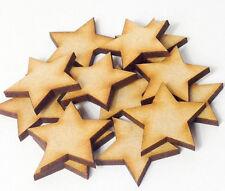 100 x 3cm / 30mm stelle di MDF TAGLIO LASER SAN VALENTINO MDF IN LEGNO FORMA