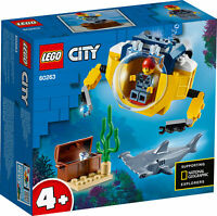 60263 LEGO City Ocean Mini-Submarine Playset 41 Pieces Age 4 Years+