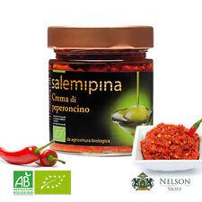 Crema di Peperoncino Biologica da 190 gr By Nelson Sicily