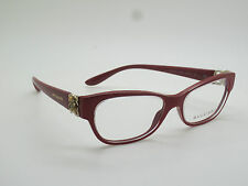 0ccb842835 New Authentic BVLGARI 4124-B 5380 Raspberry 52mm Rx Eyeglasses