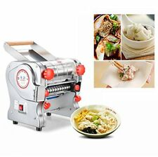 110V Commercial Stainless Steel Electric Pasta Roller Maker Noodle Machine 24CM