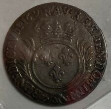 FRENCH COLONIES  1/4 ECU 1693A - XF