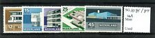 Netherlands 1969 Cultural Welfare (Buildings) set Sg1085/89 Mnh