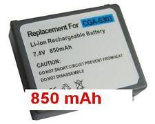 Batterie 850mAh type CGA-S303 CGA-S303E/1B VW-VBE10 Pour Panasonic SDR-S200