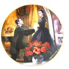 Gone With The Wind Plate THE PROPOSAL 1988 WS George Fine China
