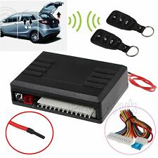 Universal Car Remote Central Kit Door Locking Vehicle Keyless Entry System 12V