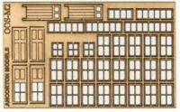 Ancorton 95740 OO Gauge Signal Box Doors & Windows Kit