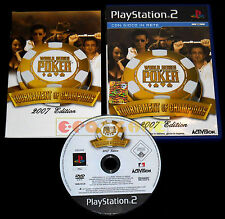 WORLD SERIES OF POKER TOURNAMENT OF CHAMPIONS 2007 PS2 Vers Italiana •• COMPLETO
