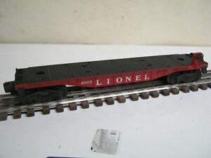 "1958-59 LIONEL ""0 or 027 "" GAUGE # 6805 ATOMIC ENERGY DISPOSAL FLATCAR-NICE!"