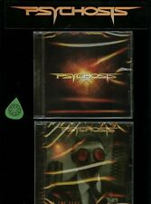 Psychosis Lot of 2 CDs new self titled + By Our Hand Agent Steel Heathen members