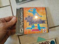 CIB Complete Playstation PS1 Black Label Dance Dance Konamix case instructions