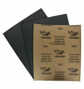 WET / DRY SANDPAPER Sand Paper 320 GRIT ABRASIVE PAPER SILIC CARBIDE WATERPROOF