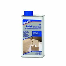 1L Lithofin MN Polish Liquid Wax All Stones Surface Polishing Floor Table Tops