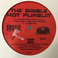 """Unknown Artist - Hot Pursuit / Paper Clips 12"""" VG+ 2002 Random Rap Hip Hop USA"""