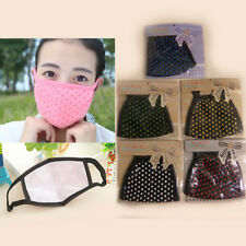Kids Adult Travel Cute Health Face Mask Protect Winter Mouth Dust Cover Heart