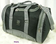 "Ladies Smaller Size Holdall 15"" ~ GREY ~ Hand luggage ALL airlines"