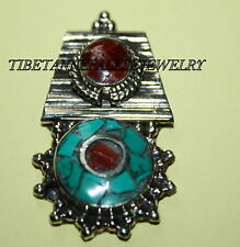 Nepalese Turquoise spacer Necklace Spacer Nepal spacer beads tibet spacer sp23
