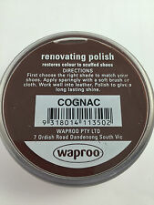 Waproo Reno Shoe Polish For smooth leather 45G  - All Waproo Colours Available.