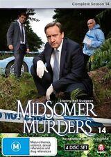 Midsomer Murders : Season 14 (DVD, 2016, 4-Disc Set)