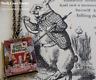 Alice in Wonderland Book Cover Locket Necklace_Jewellery_Gift_Vintage Look