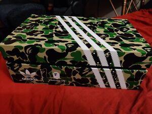 Adidas x Bape A Bathing Ape Superstar 80s Size 9.5 Multi Camo Bapesta GZ8982