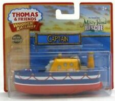 THOMAS THE TANK & FRIENDS - WOODEN CAPTAIN 2010 **NEW IN BOX*DISCONTINUED**HTF**