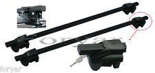 CROSS BAR ROOF RACKS CROSSBARS STEEL W LOCK SYSTEM FOR SUBARU TRIBECA OUTBACK