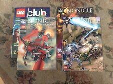 Glatorian Bionicle DC/Lego Comic Books - Lot of 4
