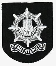 NETHERLANDS GEMEENTEPOLITIE POLICE PATCH