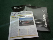 1989 CABERFEIDH MOTORS INVERNESS Saab 900 9000 CD inc TURBO UK 3 PIECE BROCHURE