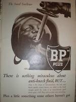 The Sword Swallower BP 1932 old art advert