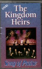 "THE KINGDOM HEIRS....""SONG OF PRAISE""....""LIVE"".....OOP GOSPEL CASSETTE"