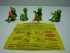 Erdal-Rex Frosch Putzmänner Satz Fremdfiguren von 1999