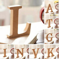 Freestanding Large 26 Wooden Wood Alphabet Letters/Wall Hanging Nursery Decors