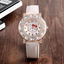 Superbe Montre Quartz Design Cadran Hello Kitty femme enfant  PROMO