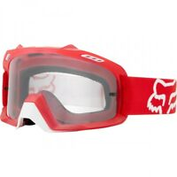 YOUTH FOX AIRSPACE MOTOCROSS MX GOGGLES RED tear-off bike airspc KIDS