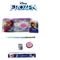 Kids Girls Disney Frozen  Filled Pencil Case Stationery Gift  School